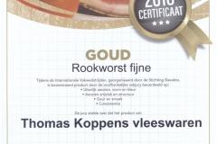 Rookworst [GOUD]
